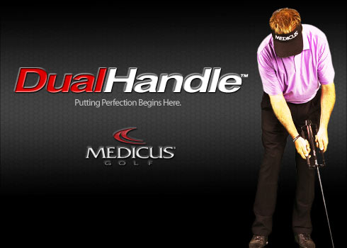 Dual Handle Putter Trainer