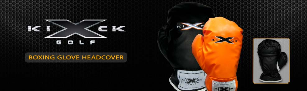 KICK X GOLF Boxing Glove Headcover