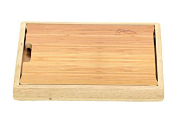 Bodoki Bamboo Cutting Board with Basin