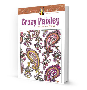 Crazy Paisley Coloring Book