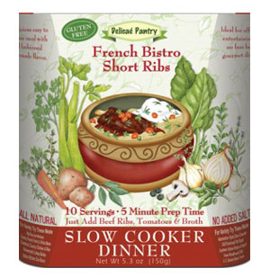 French Bistro Short Ribs Slow Cooker Dinner Kit