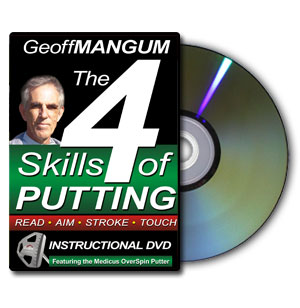 4 Skills of Putting DVD