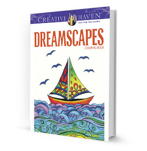 Dreamscapes Coloring Book
