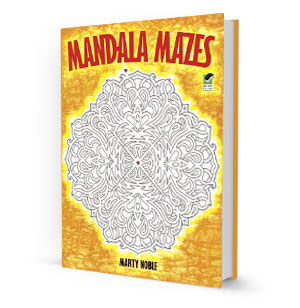 Mandala Mazes Coloring Book